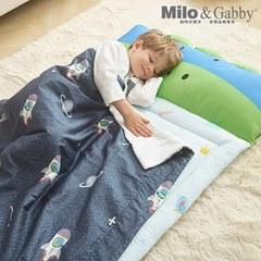 Milo & Gabby動物好朋友-三合一超透氣輕薄午睡組80*130cm (太空冒險Dylan恐龍)