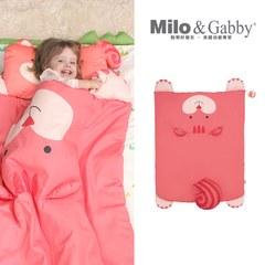 Milo&Gabby 動物好朋友-立體造型暖暖蓋被 (LUCY松鼠)