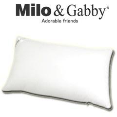 【此商品為預購品,於4/10起出貨】Milo & Gabby 動物好朋友-超細纖維防蹣抗菌mini枕心+枕套組(DYLAN恐龍)