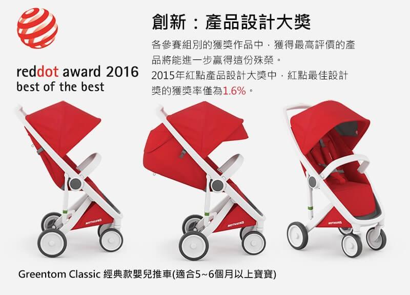 Greentom,紅點設計大獎,嬰兒推車推薦,iphone,時尚