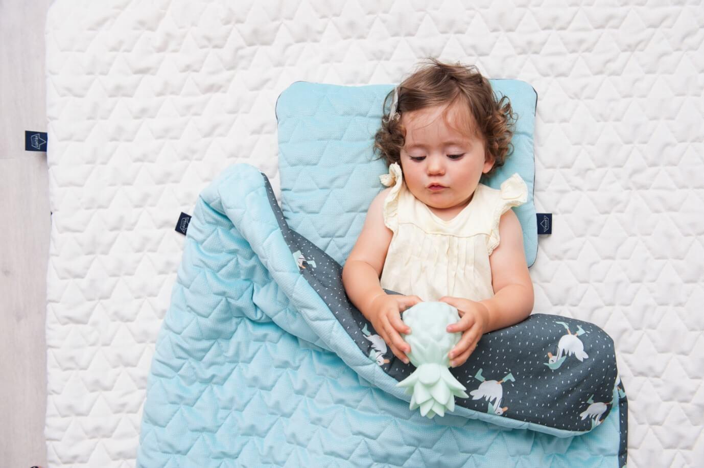 【柔柔毯推薦】La Millou極致舒柔多功能寶寶雙面柔柔毯