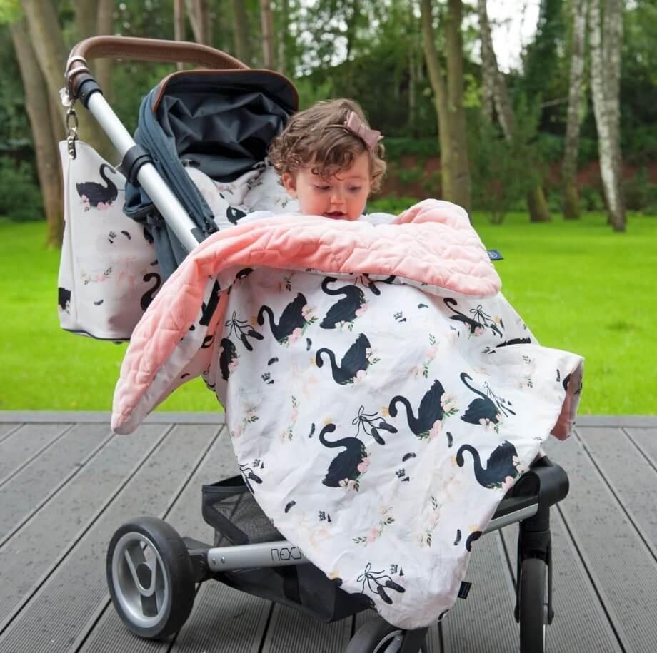 柔柔毯外出防護-推車蓋毯